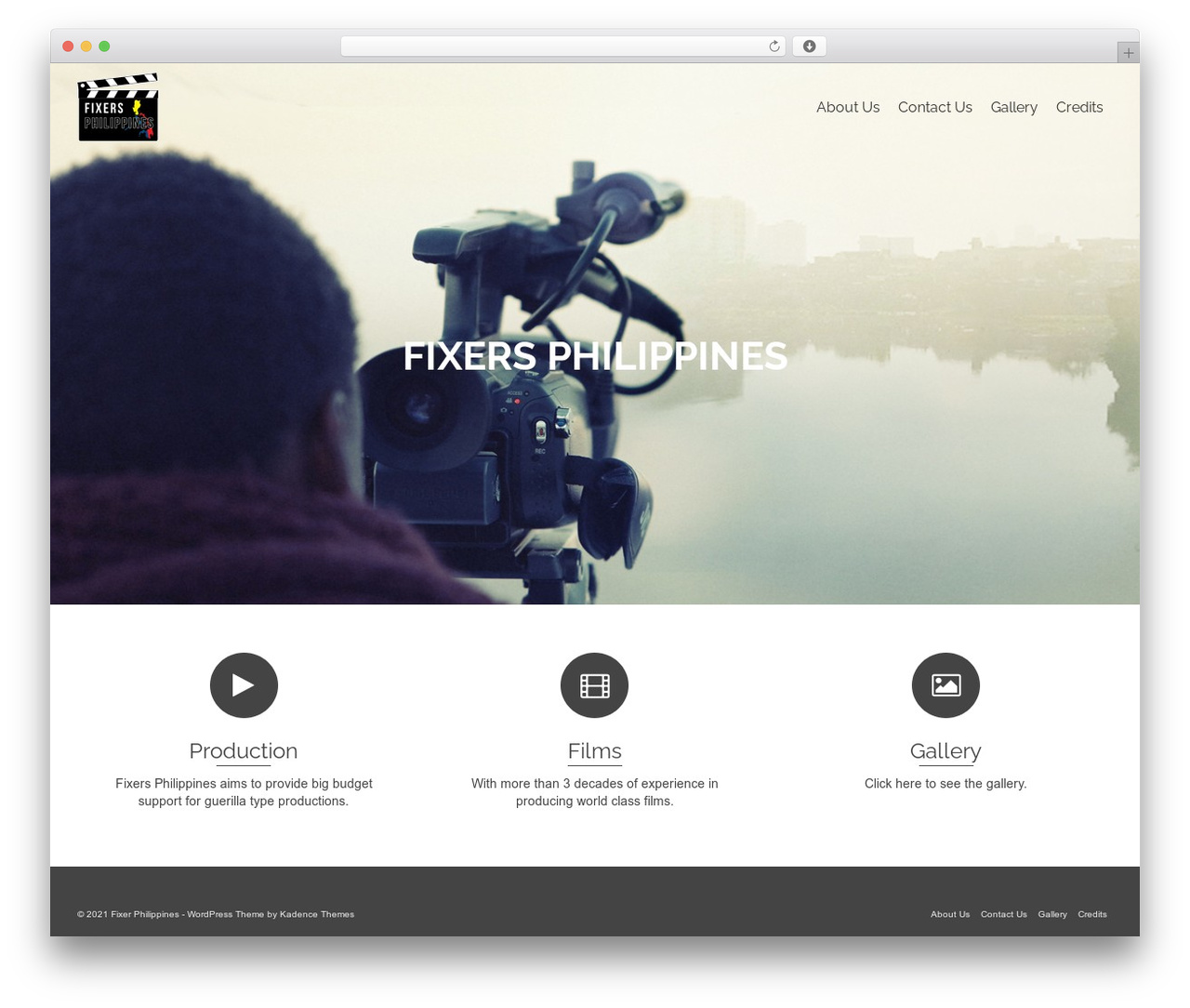 Pinnacle WordPress template - fixersphilippines.com