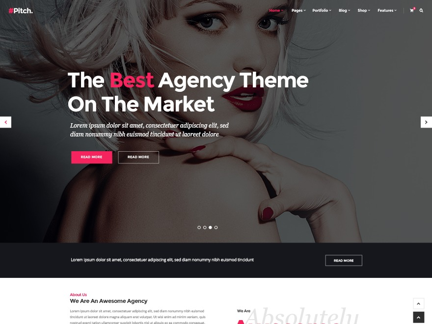 Pitch Child premium WordPress theme