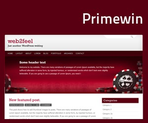 Primewin WP template