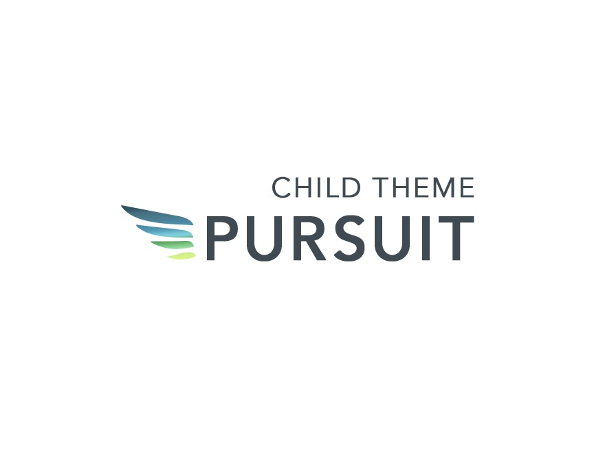 Pursuit Child Theme WordPress theme