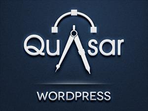 Quasar Child Theme WordPress ecommerce theme