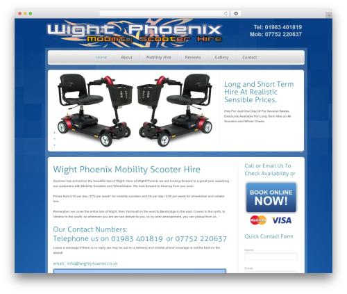 RT-Theme 14 theme WordPress - wight-phoenixmobilityscooterhire.co.uk
