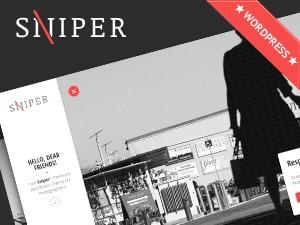 Sniper theme WordPress