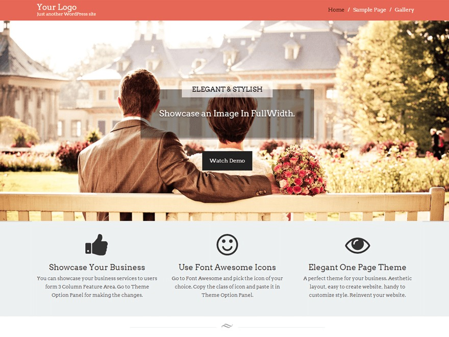 Start Point best free WordPress theme