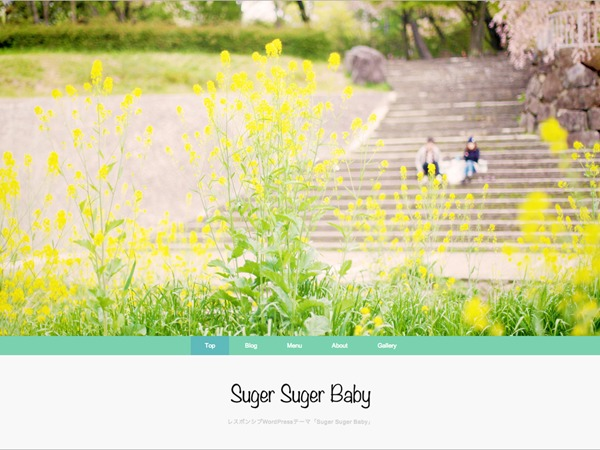 Suger Suger Baby premium WordPress theme