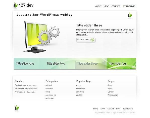 Tech9 newspaper WordPress theme