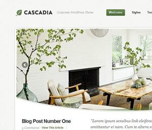 Template WordPress Cascadia