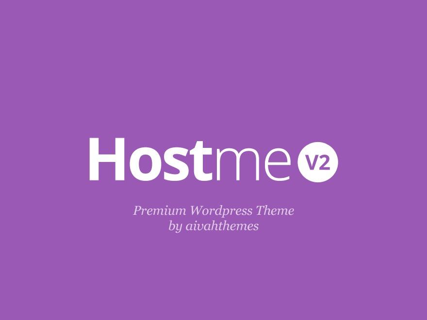 Template WordPress Hostmev2