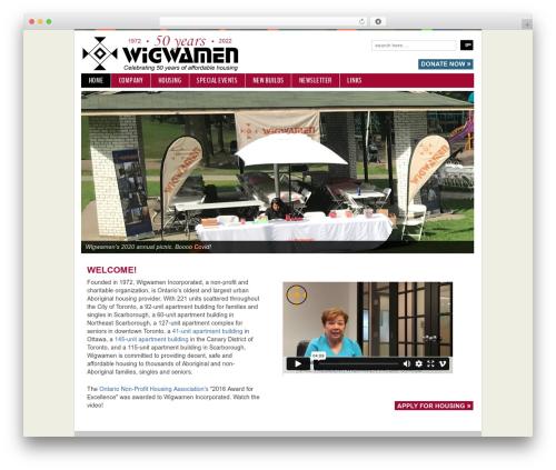 Template WordPress Responsive - wigwamen.com