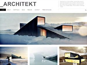 Theme WordPress Architekt Theme