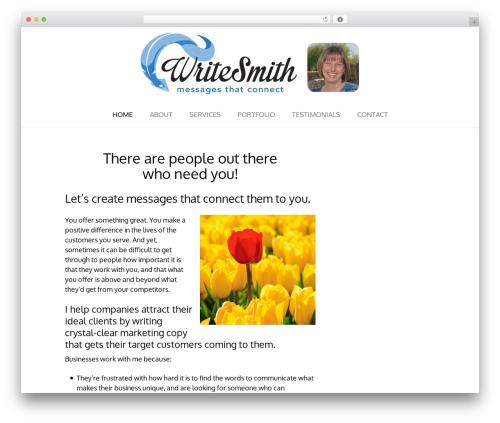 Theme WordPress Tribe - writesmithaz.com