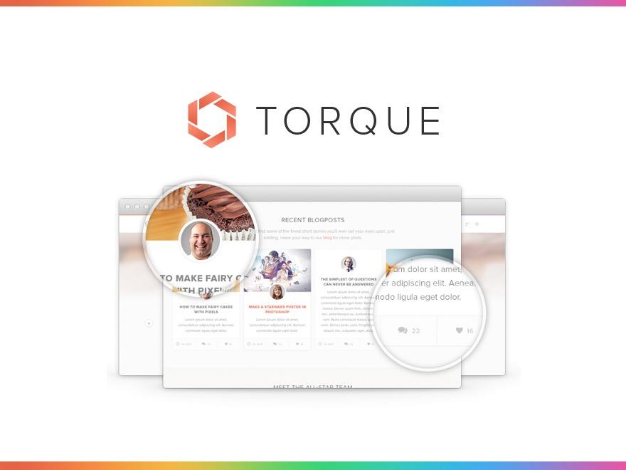 Torque business WordPress theme
