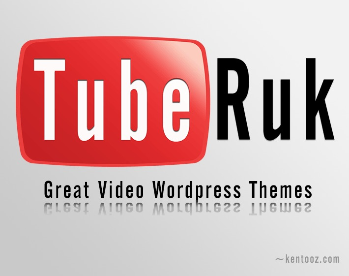 Tuberuk WordPress video template