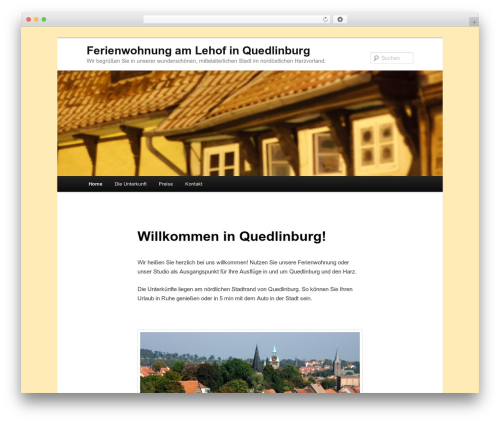Twenty Eleven WordPress template free download - ferien-quedlinburg.de