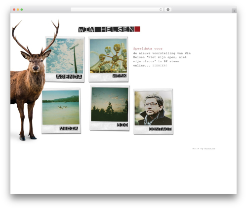Twenty Twelve WordPress theme - wimhelsen.be