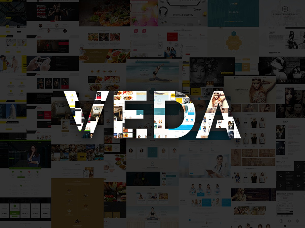 Veda top WordPress theme