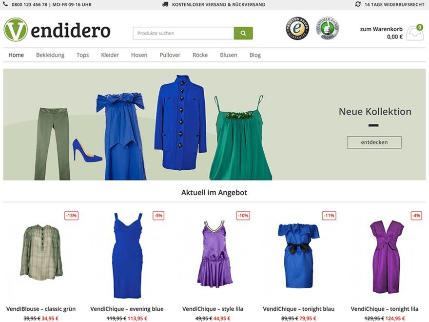 VendiPro Child WordPress theme