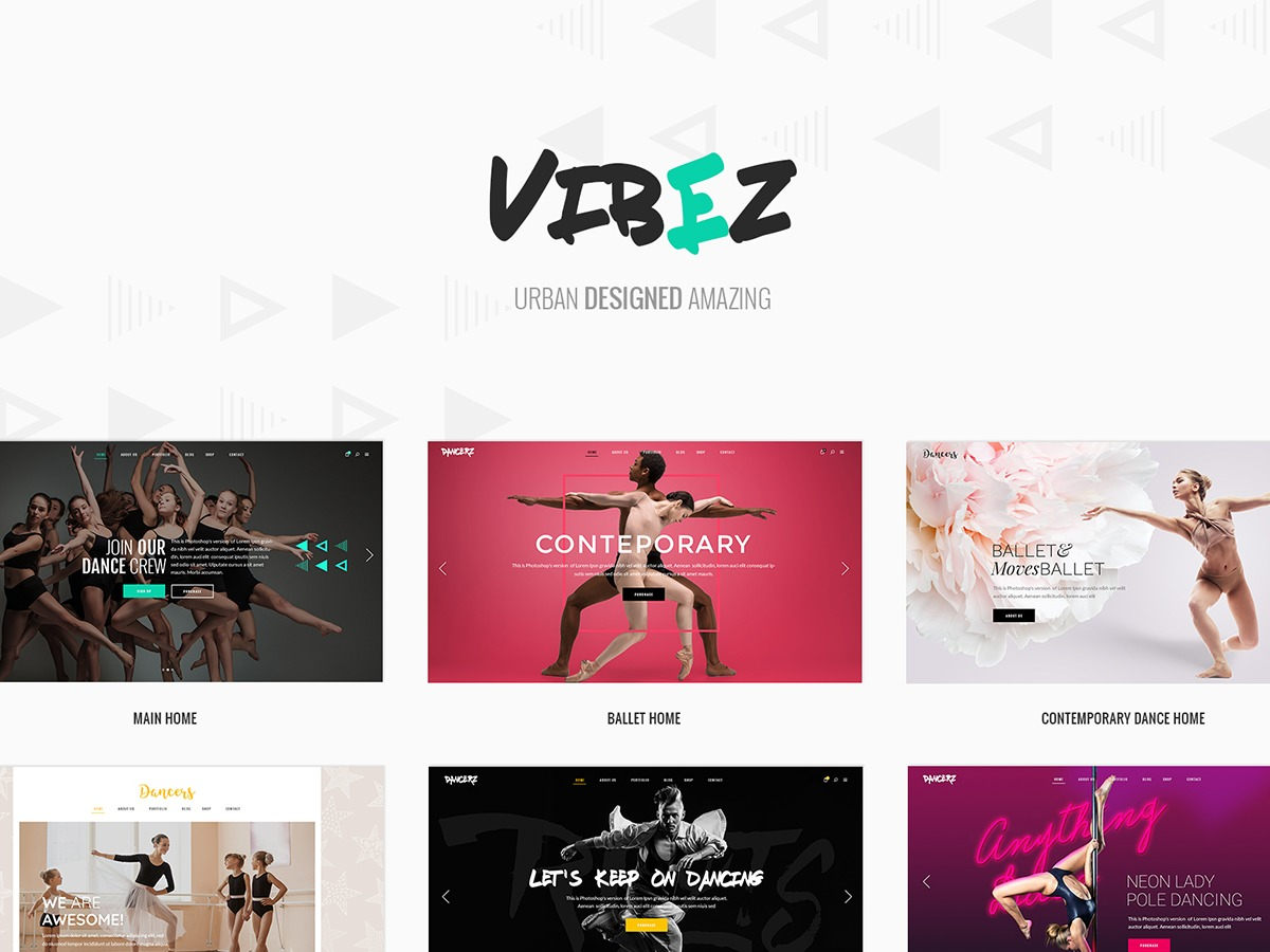 Vibez template WordPress