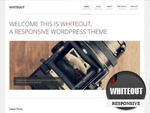 WhiteOut WordPress template