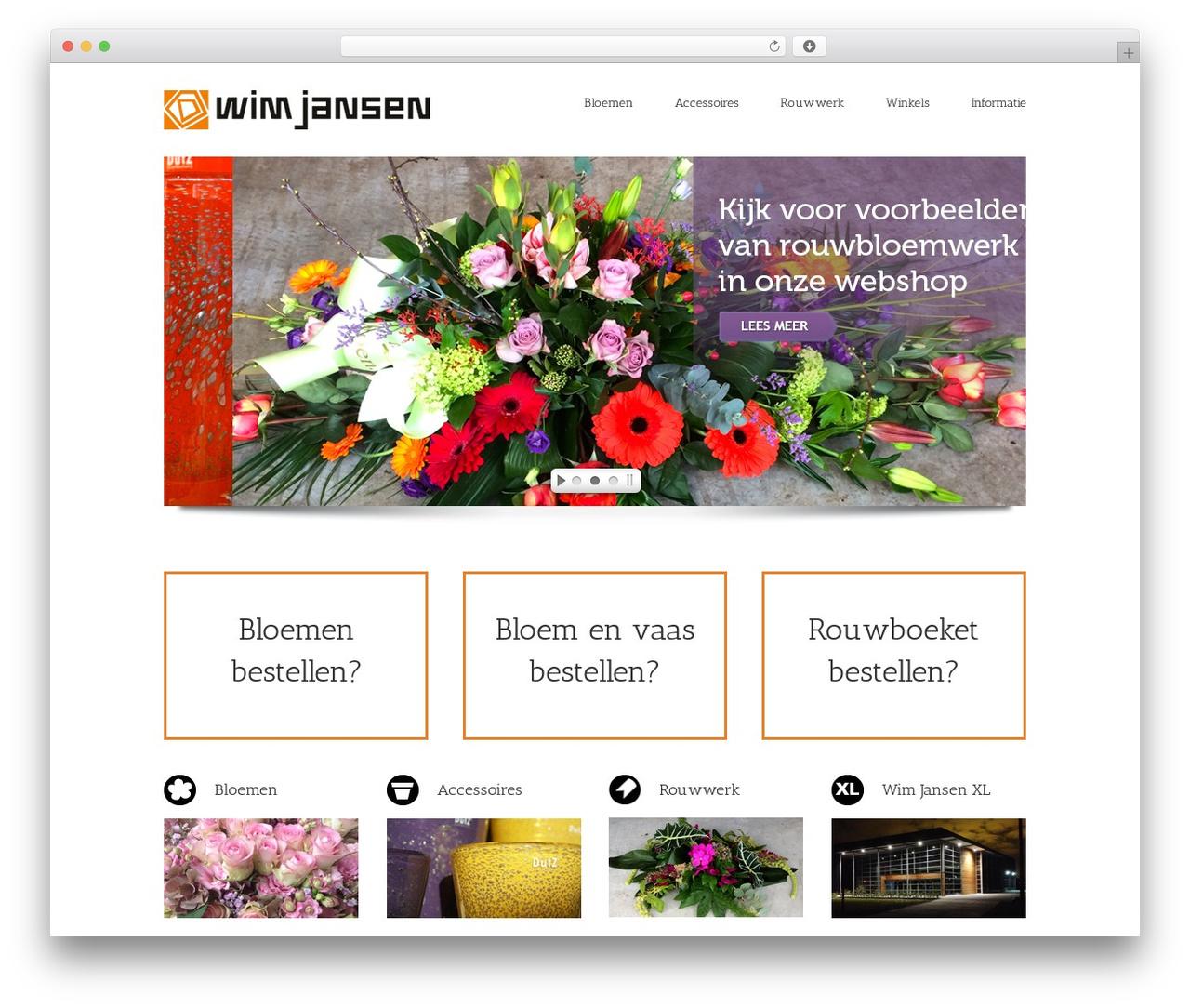 WordPress template Avada - wimjansen.nl