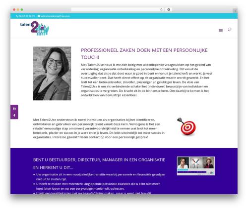 WordPress testify plugin - wilmahanskamp.nl