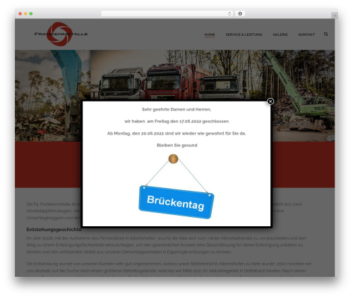Free WordPress Cookie Notice for GDPR plugin - frankenmetalle.com