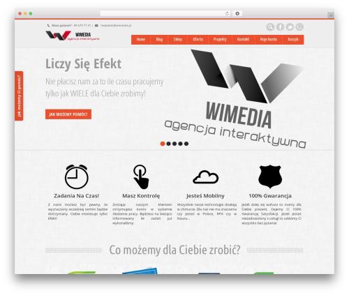 WordPress theme Nevon Theme - wimedia.pl