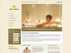WordPress theme Spa Salon