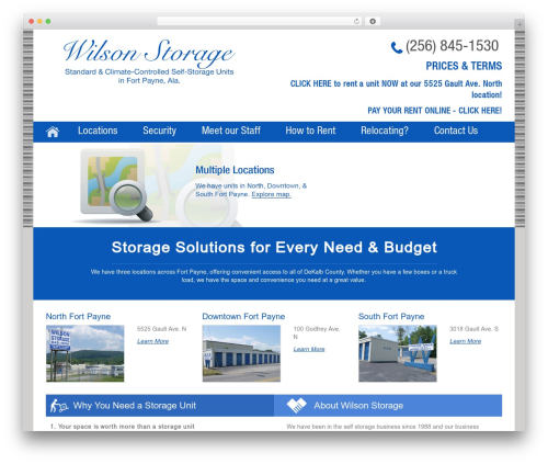 Free WordPress Follow us on widget plugin - wilsonstorage.com