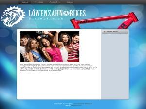 WordPress website template fixiebike3