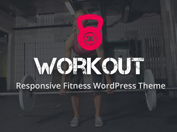 Workout WordPress theme