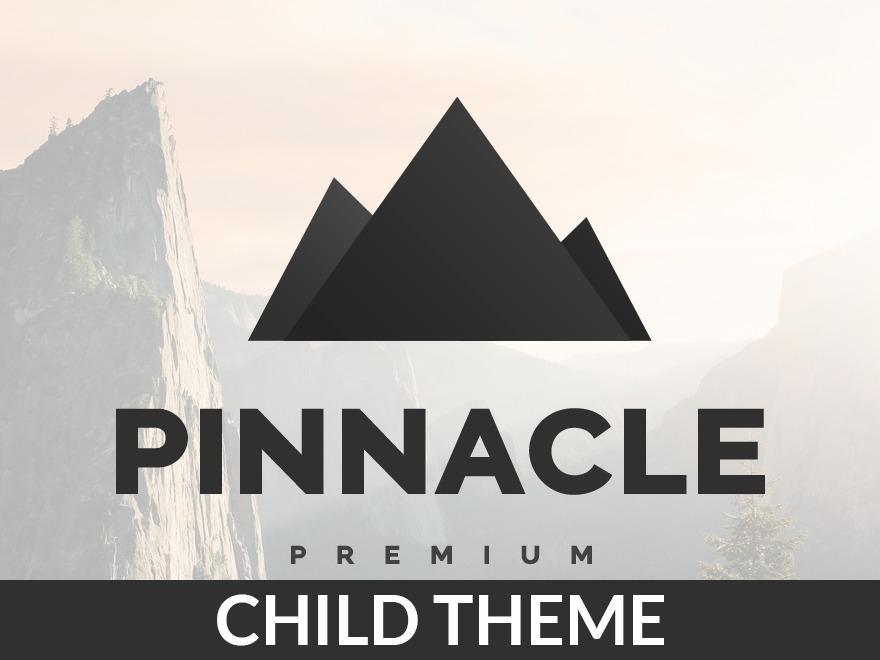 WP template Pinnacle Premium Child Theme
