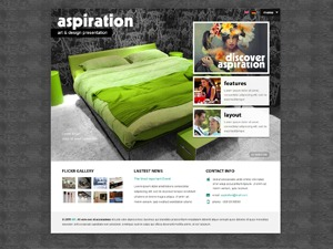 WP theme Aspiration