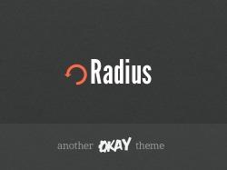 WP theme Radius WordPress Theme