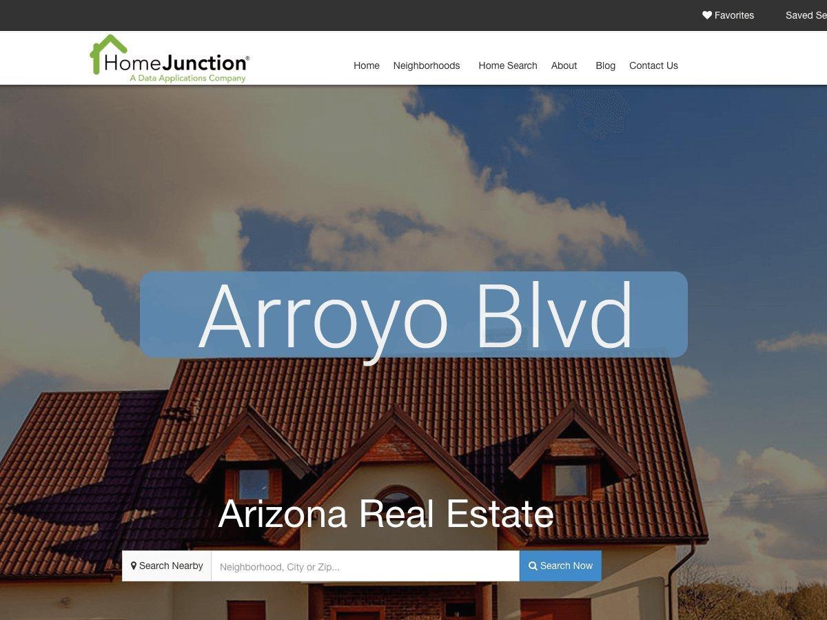 Arroyo Blvd real estate template WordPress