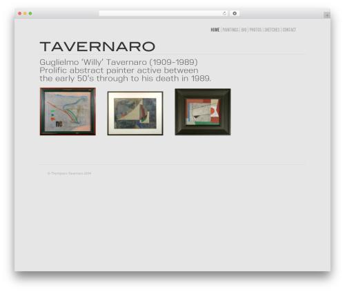Avada WordPress template - tavernaro.co.uk