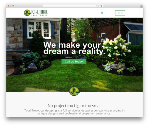Free WordPress MailChimp for WordPress plugin - totaltropiclandscaping.com