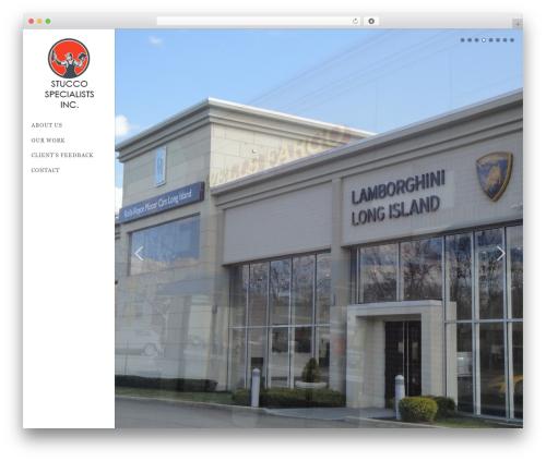 BigFormat top WordPress theme - thestuccogroup.com