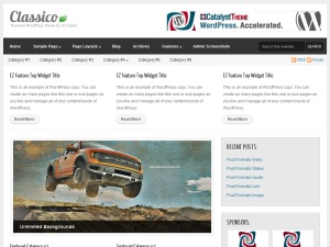 Classico Child Theme WordPress theme