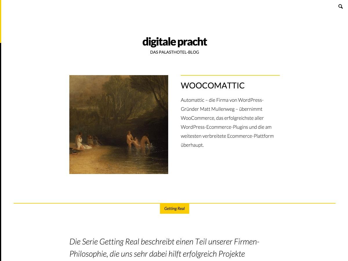 digitale Pracht WordPress theme image