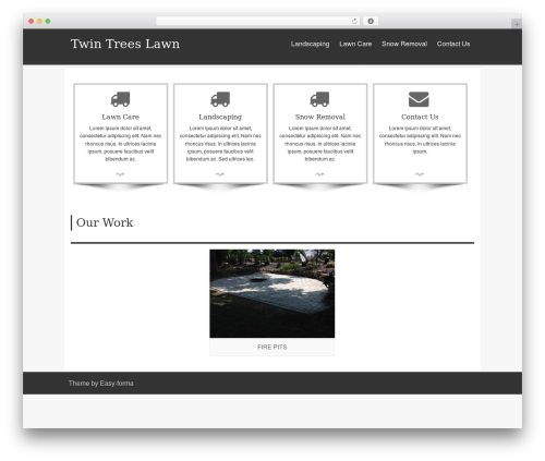 isis free website theme - twintreeslawn.com