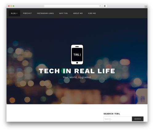Lodestar top WordPress theme - techinreallife.com
