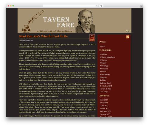 Mad Meg WP template - tavernfare.com
