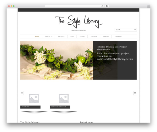 Maya Shop best WordPress theme - thestylelibrary.net.au