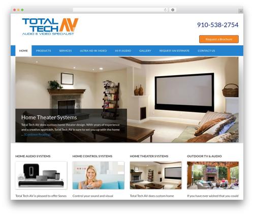 Outreach Pro business WordPress theme - totaltechav.com