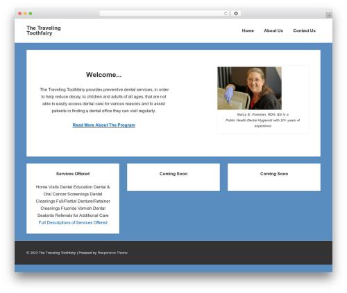 Responsive WordPress travel theme - thetravelingtoothfairy.com