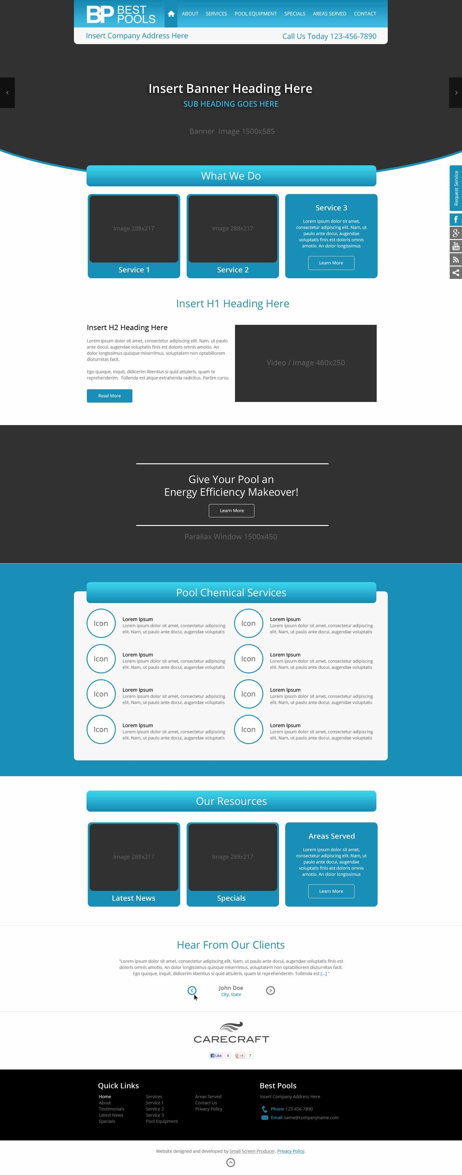 SSP Starter WordPress blog template