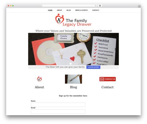 Free WordPress Very Simple Event List plugin - thefamilylegacydrawer.com