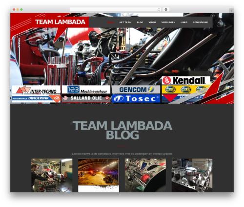 Theme WordPress Inside Theme - teamlambada.nl
