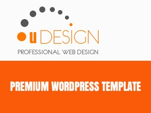 U-Design (by blackhatboys.com) WordPress theme
